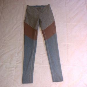Outdoor Voices | Leggings Blue Gray Rust S